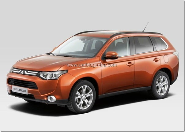 Mitsubishi Outlander 2013 New Model Official Picture (9)