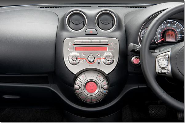 Nissan Micra Interiors