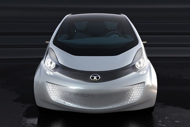 Tata Maga Pixel Concept Car Official Pictures And Video From Geneva