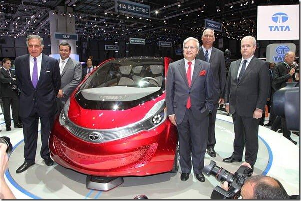 Tata MegaPixel Concept Car Ratan tata Geneva