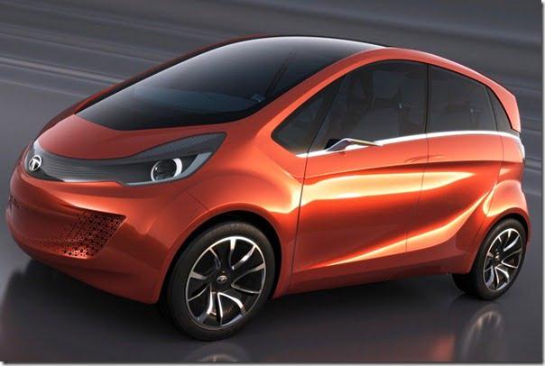 Tata MegaPixel Concept Car front side