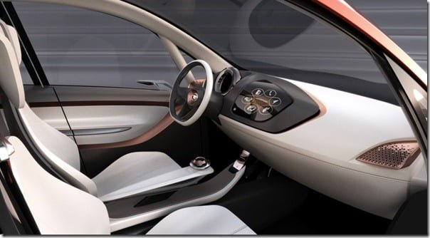 Tata MegaPixel Concept Car interiors 1