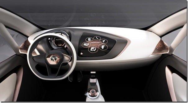 Tata MegaPixel Concept Car interiors 2