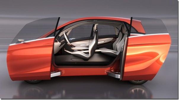 Tata MegaPixel Concept Car interiors
