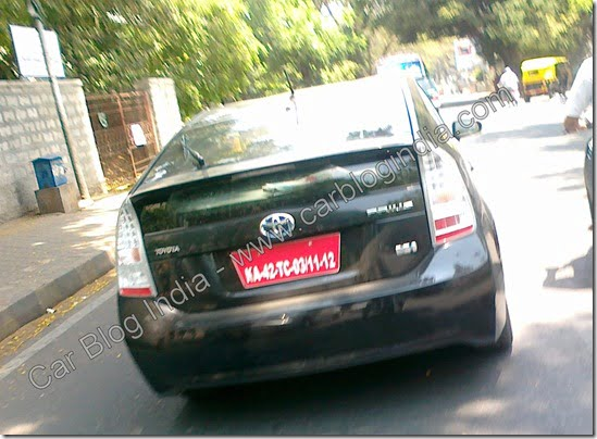 "Exclusive– What Is This ""On Test"" Prius Doing On Bangalore Roads?"