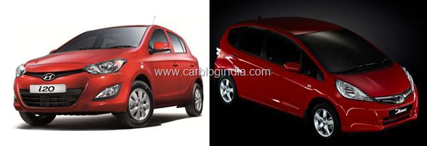 2012 New Hyundai iGen i20 Vs Honda Jazz