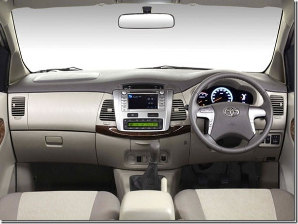 2012 Toyota Innova Interiors