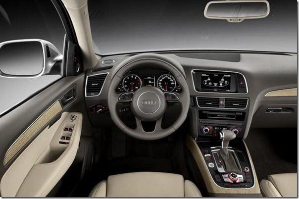 2013 Audi Q5 SUV Interiors