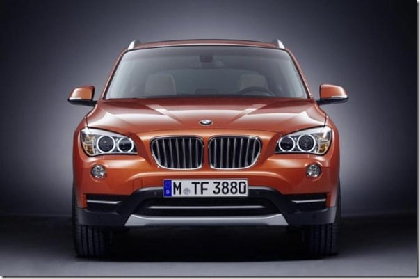 2013 BMW X1 SUV FRONT