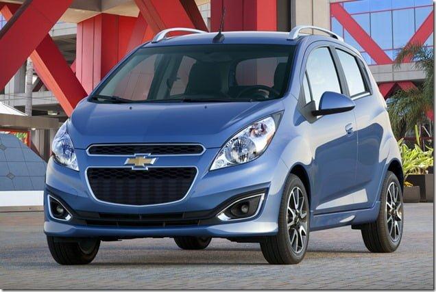 2013 Chevrolet Spark(Chevrolet Beat) front