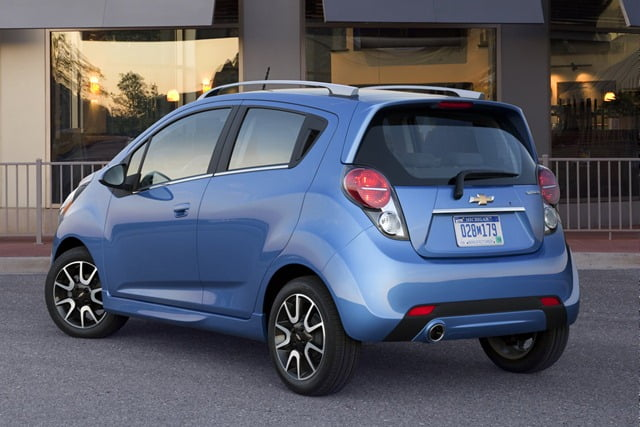 Gm Launches Chevrolet Spark Small Car In Usa Sold As Beat