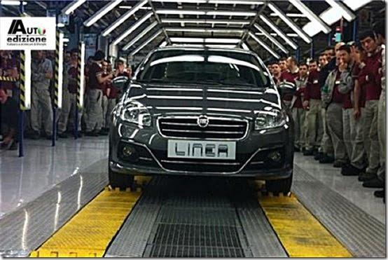 New Fiat Linea 2013