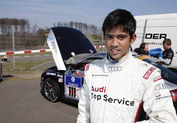 Audi Signs Young Indian Race Driver Aditya Patel
