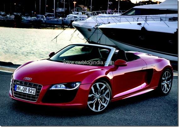 Audi R8 India