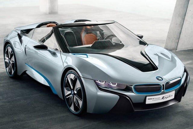 Bmw I8 Spyder Hybrid Concept Car Official Pictures And Details