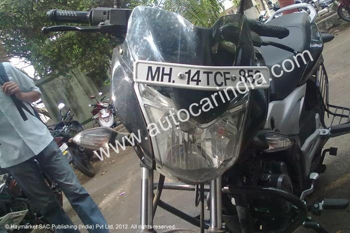 Bajaj Discover 2012 New Model Front View