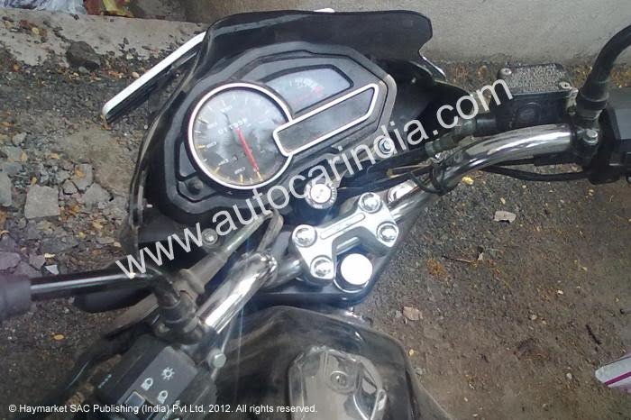 Bajaj Discover 2012 New Model Instrument Console