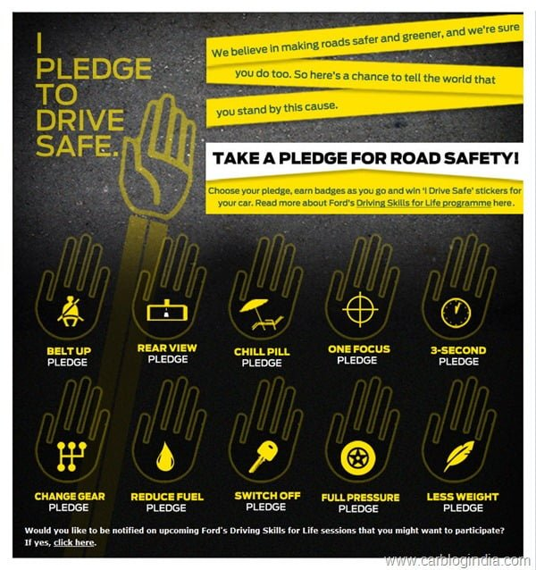 Ford Drive Safe Pledge Campaign-detailed