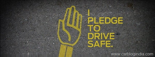 Ford Drive Safe Pledge Campaign