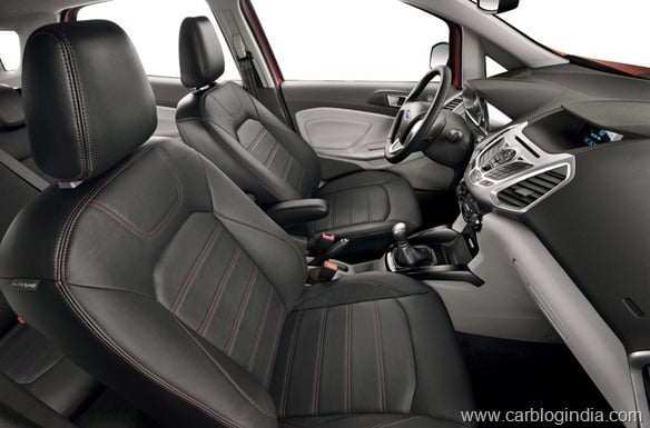 Ford EcoSport 2012 Production Version Official Pictures (2)