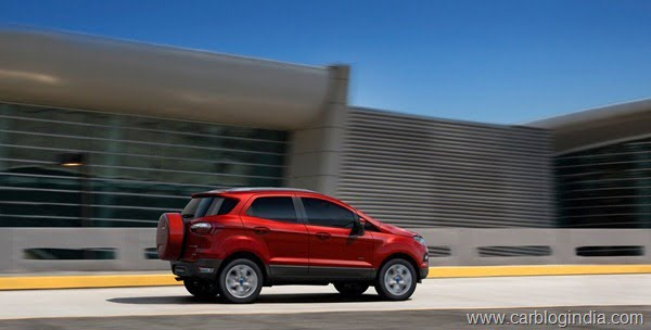 Ford EcoSport 2012 Production Version Official Pictures (3)