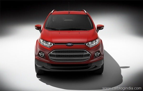 Ford EcoSport 2012 Production Version Official Pictures (8)
