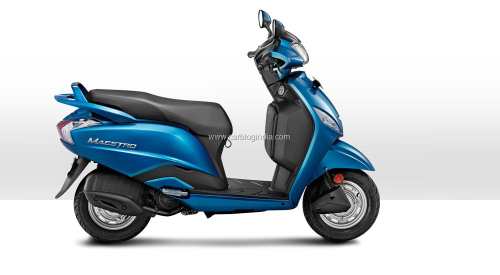 Electric Scooter With Seat >> Hero Maestro Official Price, Colours, Features And Specifications In India