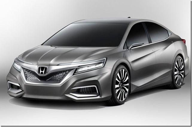 Honda C Concept Sedan Front
