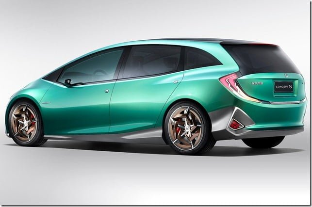 Honda S Concept Hatchback Rear Side