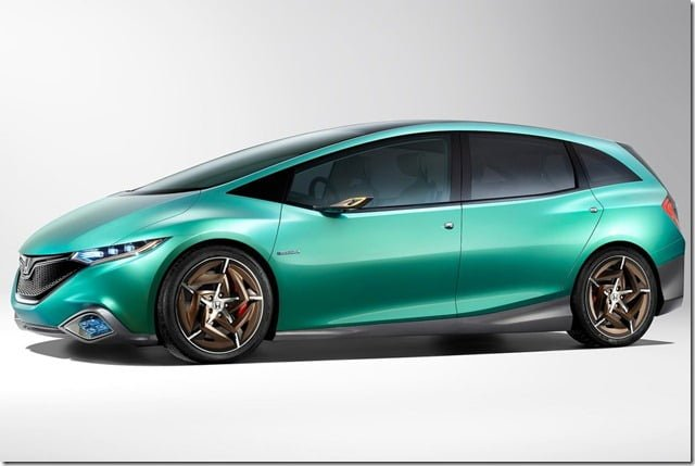 Honda S Concept Hatchback Side