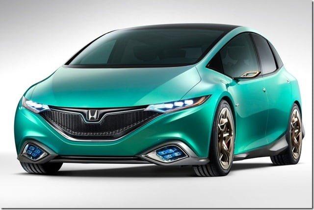 Honda S Concept Hatchback front