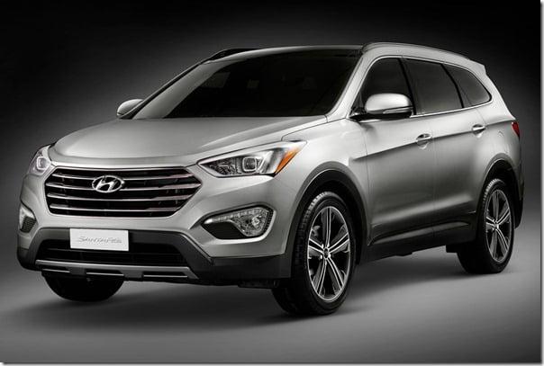 Hyundai Santa Fe 2013 Model front