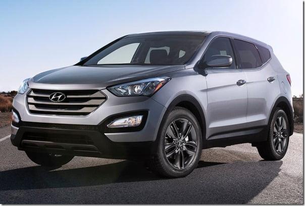 Hyundai Santa Fe 2013 Sport Model Front