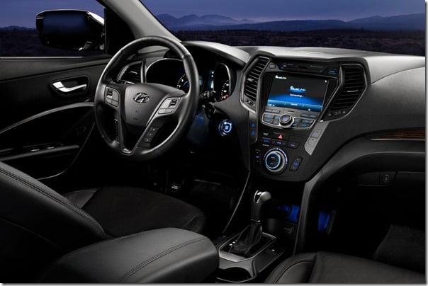 Hyundai Santa Fe 2013 Sport Model Interiors