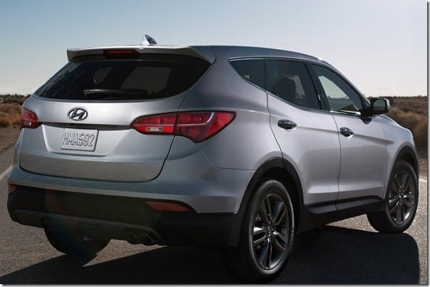 Hyundai Santa Fe 2013 Sport Model