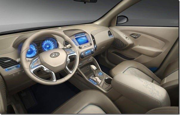 Hyundai iXonic Concept SUV Interiors