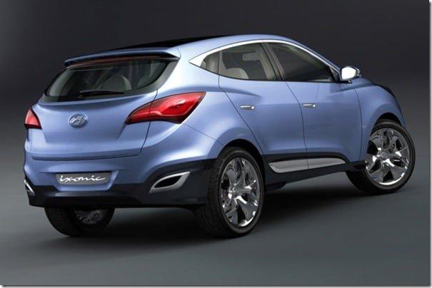 Hyundai iXonic Concept SUV rear