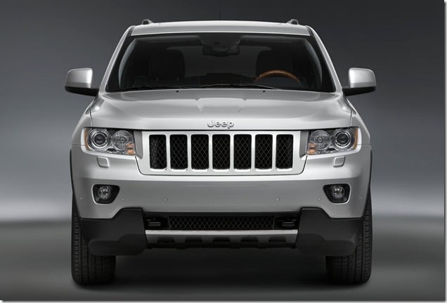 Jeep Grand Cherokee Front Angle