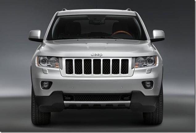 Jeep Grand Cherokee Front Angle