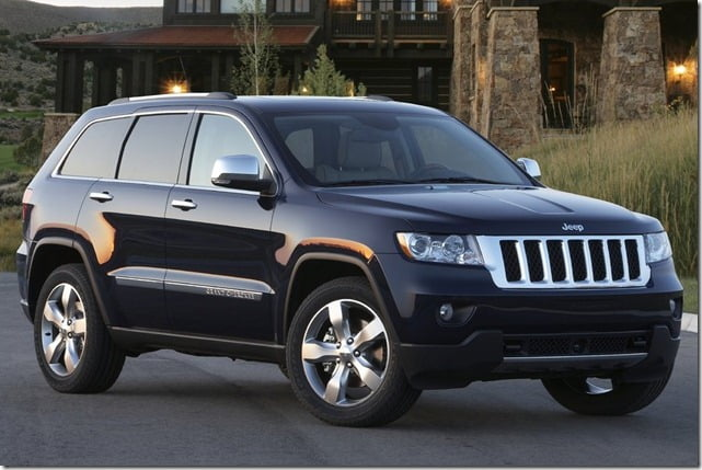 Jeep Grand Cherokee SUV India Front