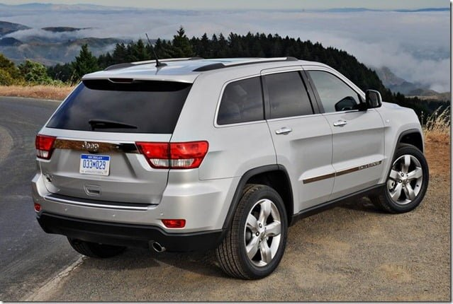 Jeep Grand Cherokee SUV India Rear Side