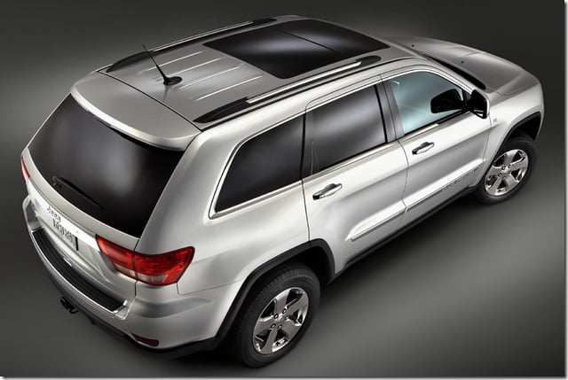 Jeep Grand Cherokee SUV India top