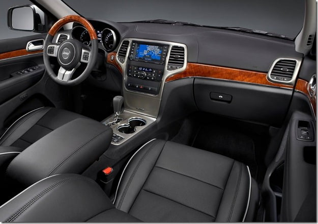 Jeep Grand Cherokee SUV Interiors