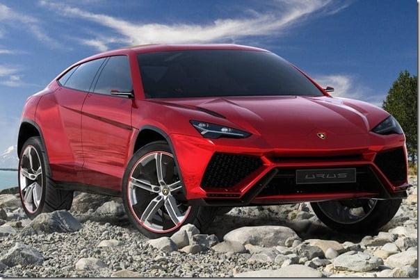 Lamborghini Urus Concept SUV Front
