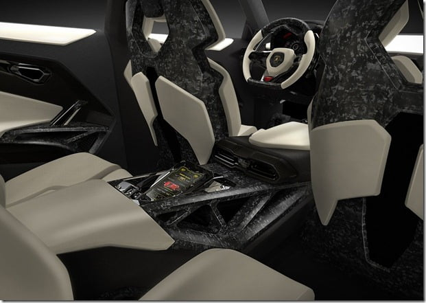 Lamborghini Urus Concept SUV Interiors Rear