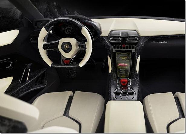 Lamborghini Urus Concept SUV Interiors