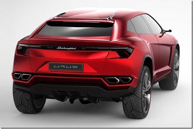 Lamborghini Urus Concept SUV Rear