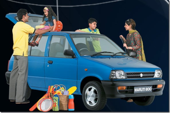 Maruti 800 Small Car Phase Out In April 2012- Replacement Launch By 2012 End