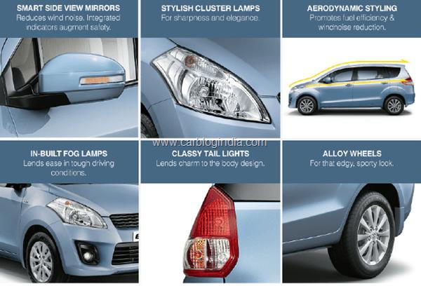 Maruti Ertiga LUV India Features