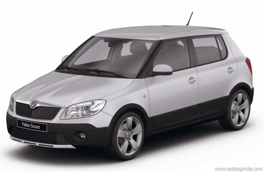 skoda fabia scout officially launched in india- price and details
